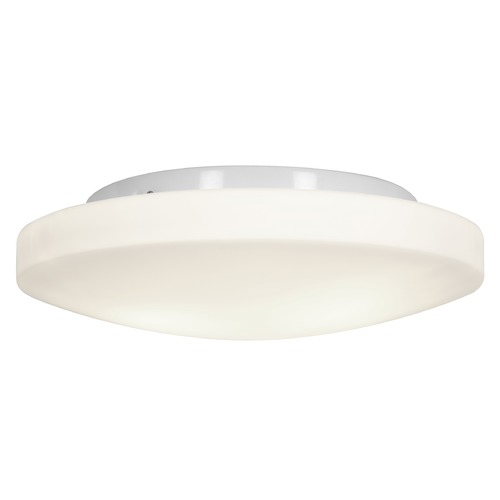 Access Lighting Access Lighting Orion White LED Flushmount Light 50161LEDD-WH/OPL