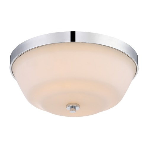 Nuvo Lighting Nuvo Lighting Willow Polished Nickel Flushmount Light 60/5804
