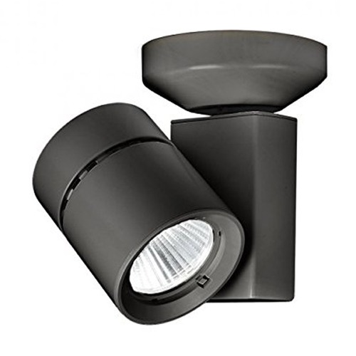 WAC Lighting WAC Lighting Black LED Monopoint Spot Light 2700K 2476LM MO-1035F-827-BK