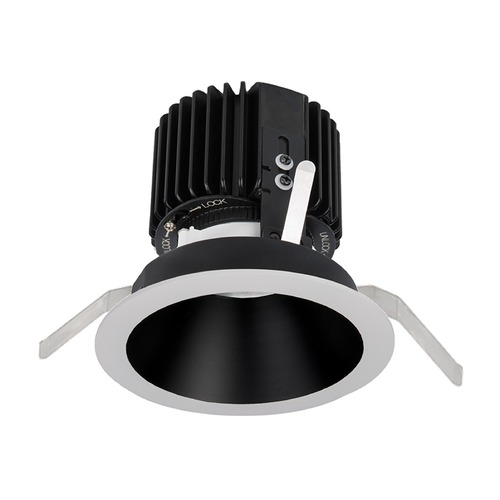 WAC Lighting WAC Lighting Volta Black White LED Recessed Trim R4RD2T-N830-BKWT