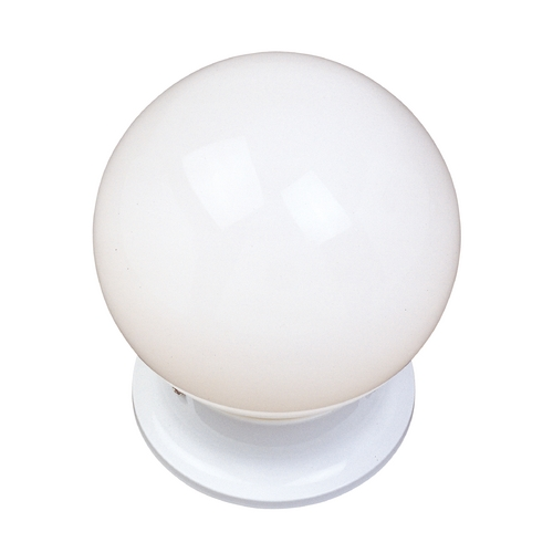 Maxim Lighting Flushmount Light with White in White Finish 5889WTWT