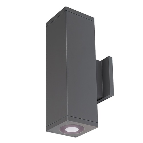 WAC Lighting Wac Lighting Cube Arch Graphite LED Outdoor Wall Light DC-WD06-U830B-GH
