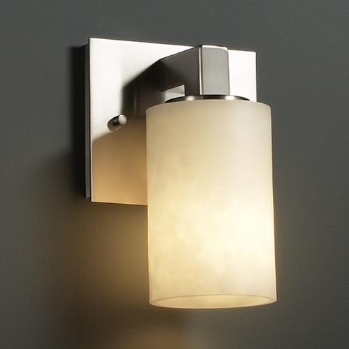 Justice Design Group Justice Design Group Clouds Collection Sconce CLD-8921-10-NCKL