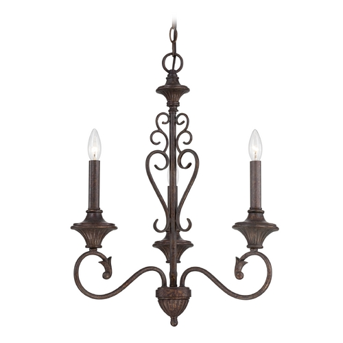 Designers Fountain Lighting Chandelier in Burnt Umber Finish 84883-BU