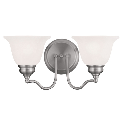 Livex Lighting Livex Lighting Essex Brushed Nickel Bathroom Light 1352-91