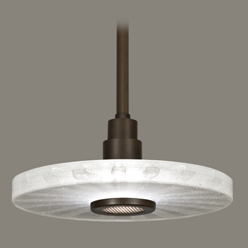 Fine Art Lamps Fine Art Lamps Crystal Bakehouse Bronze Pendant Light with Drum Shade 823240-13ST