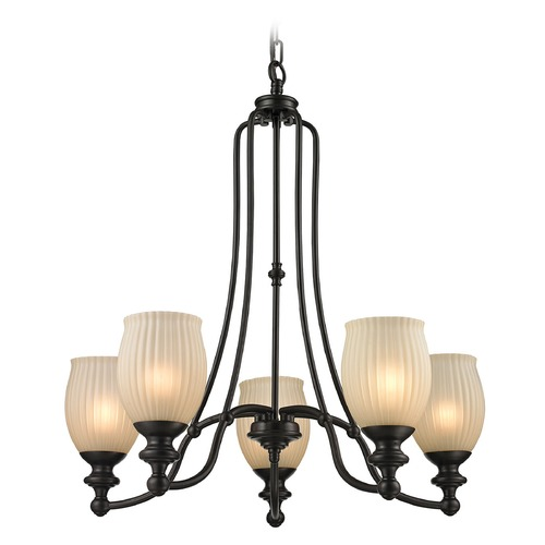 Elk Lighting Elk Lighting Park Ridge Oil Rubbed Bronze Chandelier 11656/5