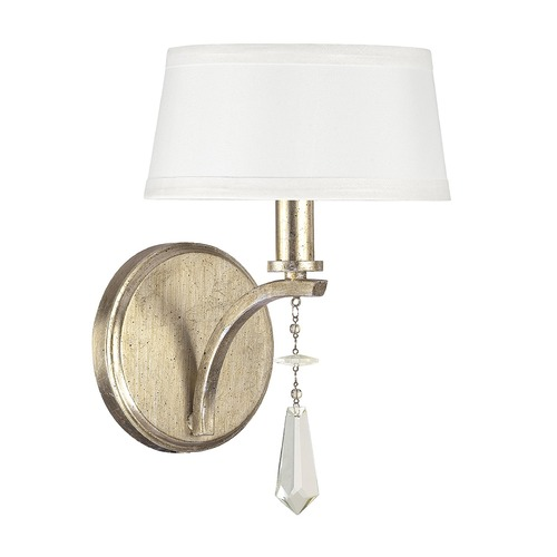 Capital Lighting Capital Lighting Margo Winter Gold Sconce 4221WG-549-CR