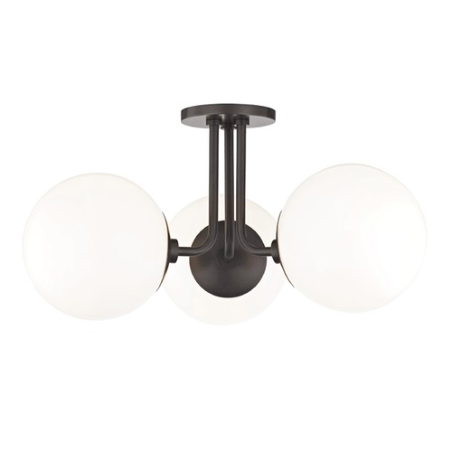 Mitzi by Hudson Valley Stella Old Bronze Semi-Flushmount Light Mitzi by Hudson Valley H105603-OB