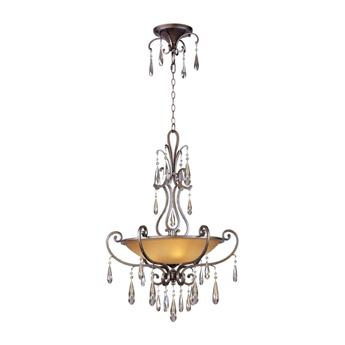 Maxim Lighting Maxim Lighting Chic Heritage Pendant Light with Bell Shade 14304COHR