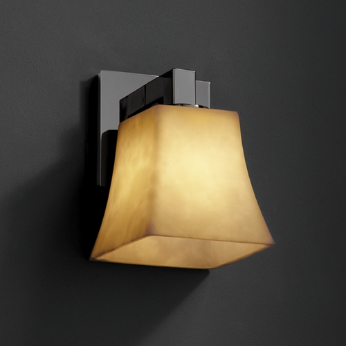 Justice Design Group Justice Design Group Clouds Collection Sconce CLD-8921-40-BLKN