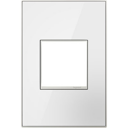 Legrand Adorne Legrand Adorne Mirror White 1-Gang Switch Plate AWM1G2MW4
