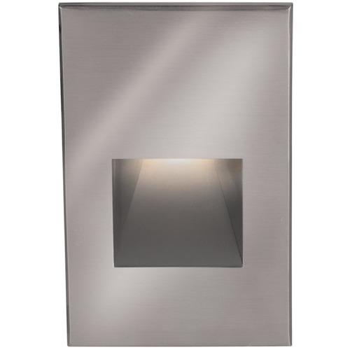 WAC Lighting Wac Lighting Stainless Steel LED Recessed Step Light WL-LED200-AM-SS