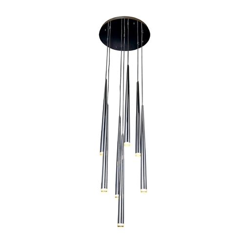Avenue Lighting Avenue Lighting Highland Avenue Chrome LED Multi-Light Pendant HF2107-CH