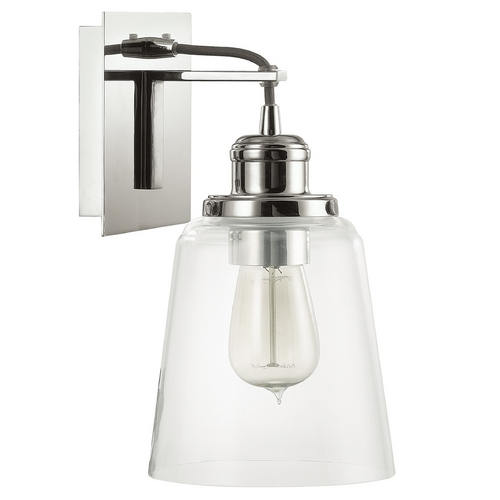 Capital Lighting Capital Lighting Polished Nickel Sconce 3711PN-135