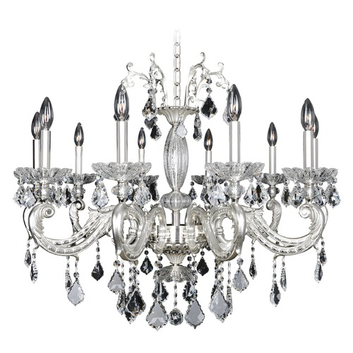 Allegri Lighting Casella 10 Light Crystal Chandelier 024754-017-FR001