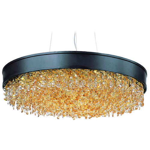 Maxim Lighting Maxim Lighting International Mystic Bronze LED Pendant Light 39655SHBZ