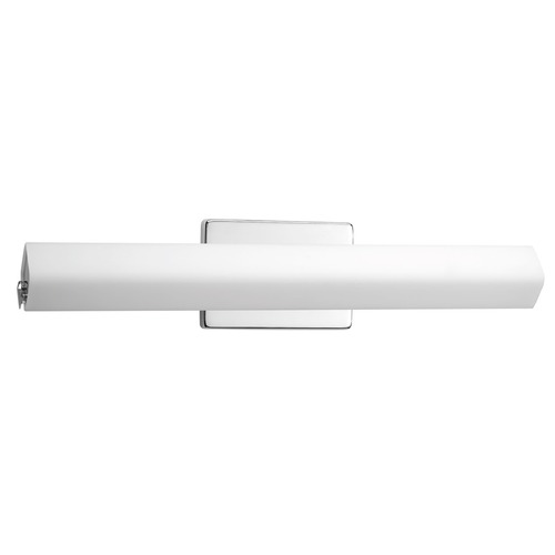 Progress Lighting Wedge Polished Chrome LED Bathroom Light - Vertical or Horizontal Mounting P2780-1530K9