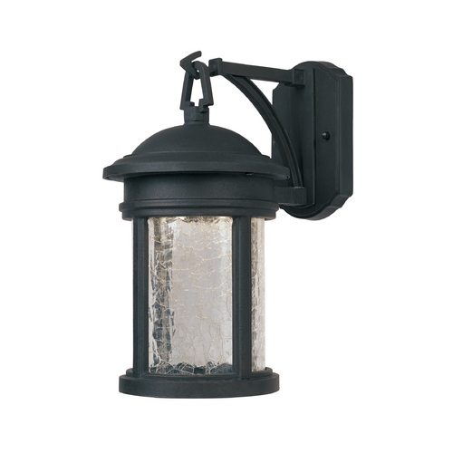 Designers Fountain Lighting LED Outdoor Wall Light with Clear Glass in Oil Rubbed Bronze Finish LED31111-ORB