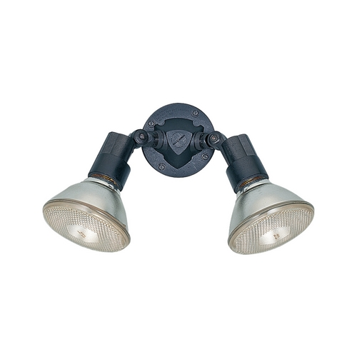 Sea Gull Lighting Modern Flood / Spot Light in Black Finish 8642-12
