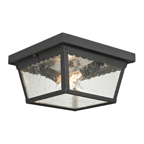 Cornerstone Lighting Cornerstone Lighting Springfield Matte Textured Black Close To Ceiling Light 9002EF/65