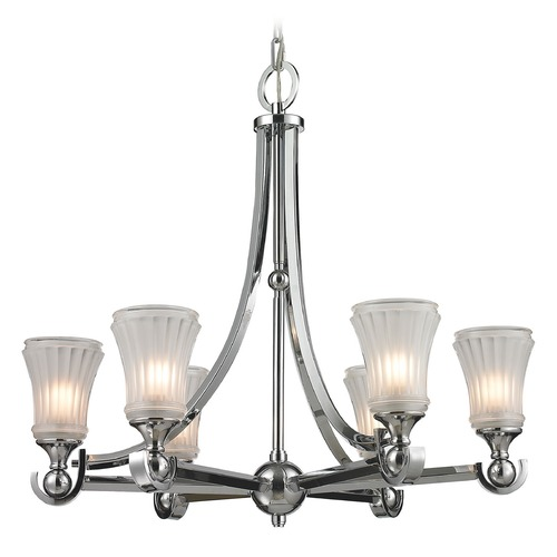 Elk Lighting Elk Lighting Jayden Polished Chrome Chandelier 11686/6