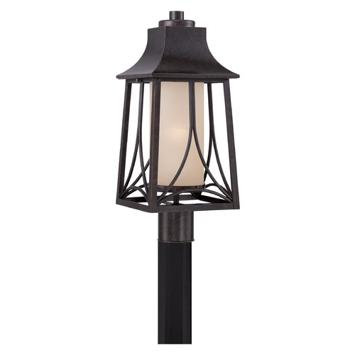 Quoizel Lighting Quoizel Hunter Imperial Bronze Post Light HTR9008IB