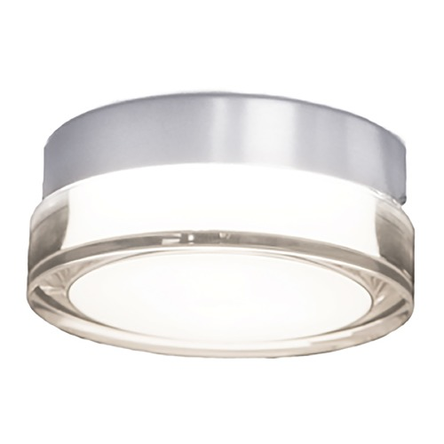 Modern Forms by WAC Lighting Modern Forms Pi Stainless Steel LED Outdoor Flushmount Light 3000K 432LM FM-W44806-30-SS