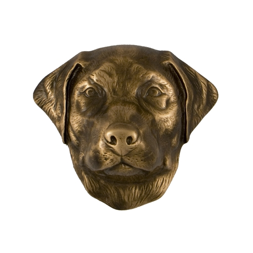 Michael Healy Door Knocker in Bronze Finish MHDOG01