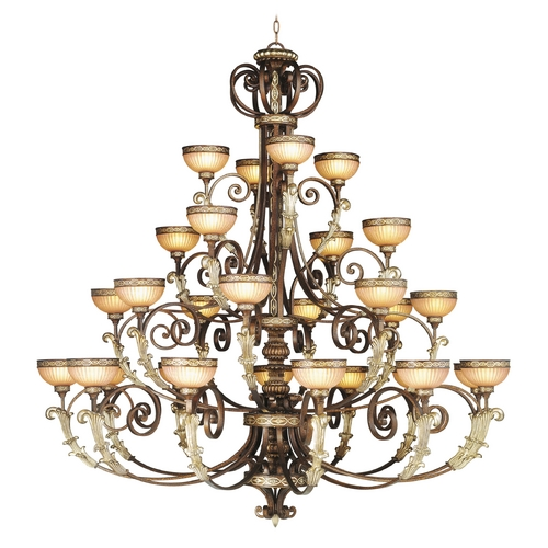 Livex Lighting Livex Lighting Seville Palacial Bronze with Gilded Accents Chandelier 8537-64