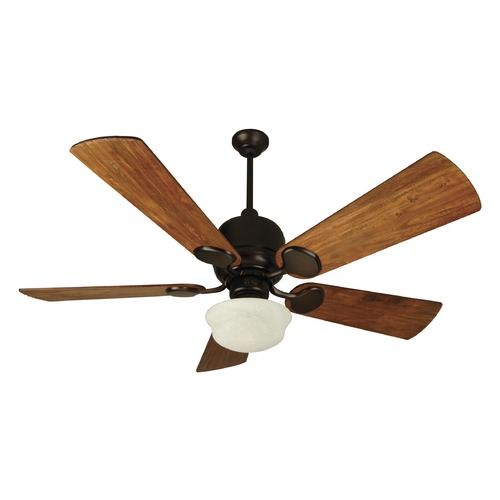 Craftmade Lighting Craftmade Lighting Kona Bay Oiled Bronze Ceiling Fan with Light K10516