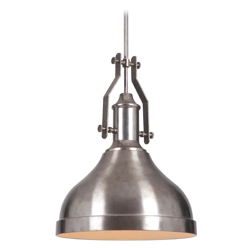 Jeremiah Lighting Jeremiah Lighting Tarnished Silver Pendant Light P550TS1