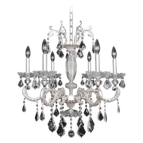 Allegri Lighting Casella 6 Light Crystal Chandelier 024755-017-FR001