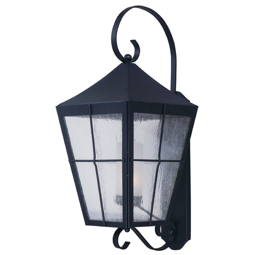 Maxim Lighting Maxim Lighting International Revere Black Outdoor Wall Light 85331CDFTBK