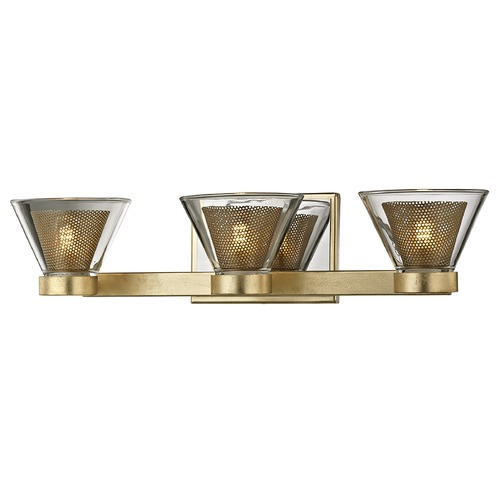 Troy Lighting Troy Lighting Wink Gold Leaf LED Bathroom Light B5823