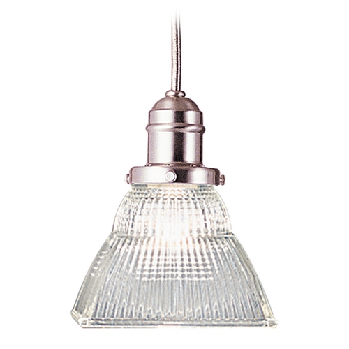 Hudson Valley Lighting Mini-Pendant Light with Clear Glass 3101-SN-45C