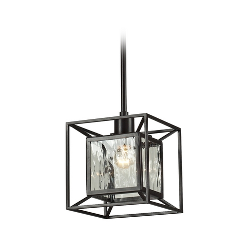 Elk Lighting Mini-Pendant Light with Clear Glass 14121/1
