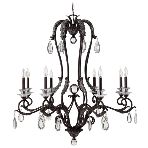 Hinkley Hinkley 8-Light Chandelier in Golden Bronze 4404GR