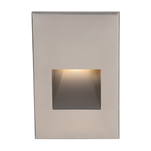 WAC Lighting Wac Lighting Brushed Nickel LED Recessed Step Light WL-LED200-C-BN