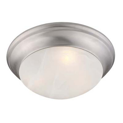 Livex Lighting Livex Lighting Omega Brushed Nickel Flushmount Light 7304-91