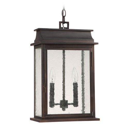 Capital Lighting Capital Lighting Bolton Old Bronze Outdoor Hanging Light 9666OB