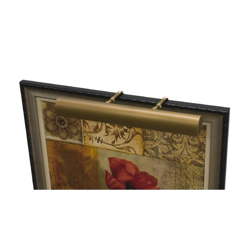 House of Troy Lighting House of Troy Classic Traditional Weathered Brass LED Picture Light TLEDZ24-76