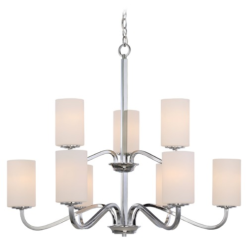 Nuvo Lighting Nuvo Lighting Willow Polished Nickel Chandelier 60/5809