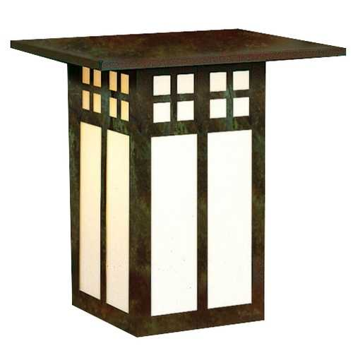 Arroyo Craftsman Lighting 9-Inch Outdoor Wall Lantern GW-9-VP-WO