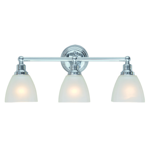 Jeremiah Lighting Jeremiah Bradley Chrome Bathroom Light 26603-CH