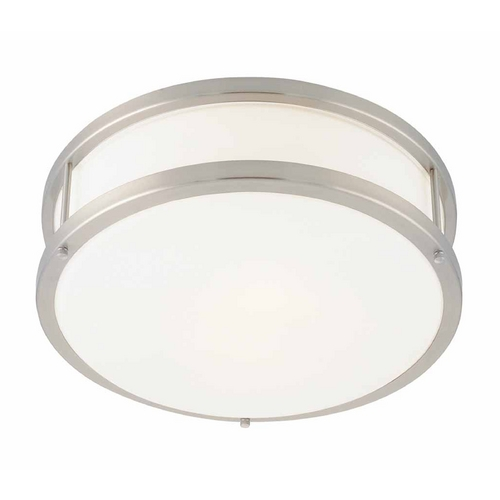 Access Lighting Access Lighting Conga Brushed Steel Flushmount Light C50079BSOPLEN1213BS