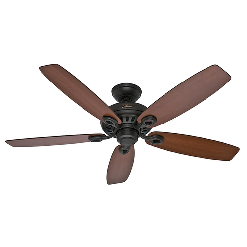 Hunter Fan Company Hunter Fan Company Markham New Bronze Ceiling Fan Without Light 54110