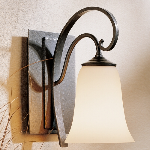Hubbardton Forge Lighting Hubbardton Forge Lighting Scroll Natural Iron Sconce 204531-20G35