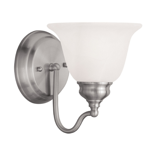 Livex Lighting Livex Lighting Essex Brushed Nickel Sconce 1351-91