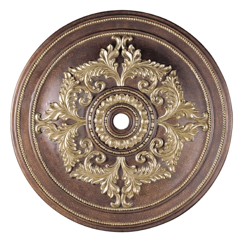 Livex Lighting Livex Lighting Palacial Bronze with Gilded Accents Ceiling Medallion 8229-64